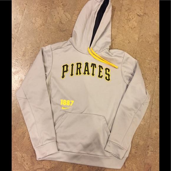 new styles 641b3 59cca Nike Pittsburgh Pirates hoodie sweatshirt therma